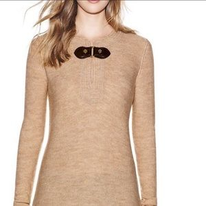 💥HOST PICK💥TORY BURCH CREAM TUNIC SWEATER